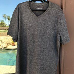 UNTUCKit Charcoal V-Neck T-Shirt XXL